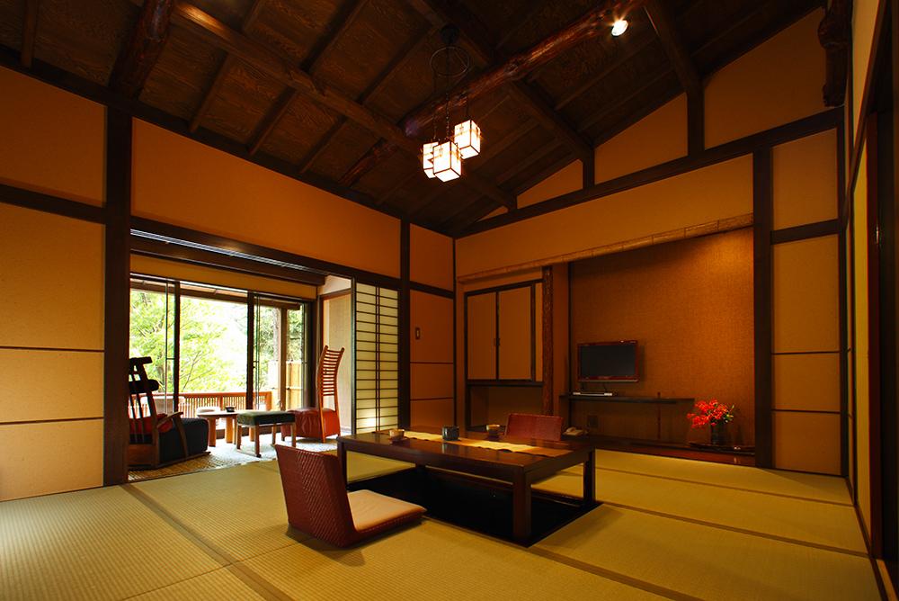 Special room with open-air bath|Yama no Ashita|66㎡メイン画像